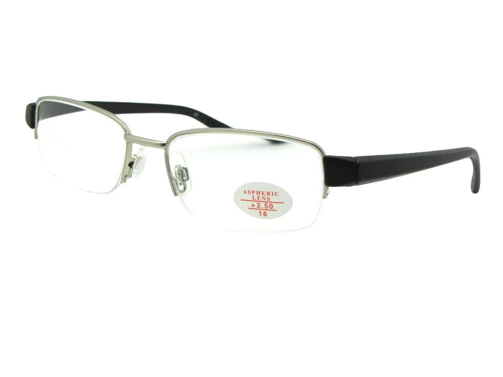 Style R9 Reading Glasses Silver Frame