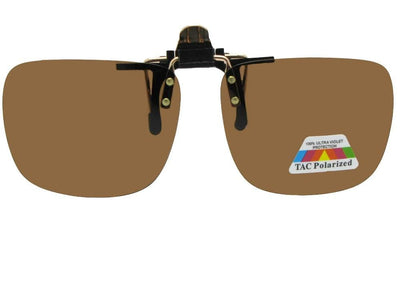 Square Polarized Flip Up Sunglasses