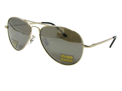 Style AV9 Mirror Aviator Sunglasses