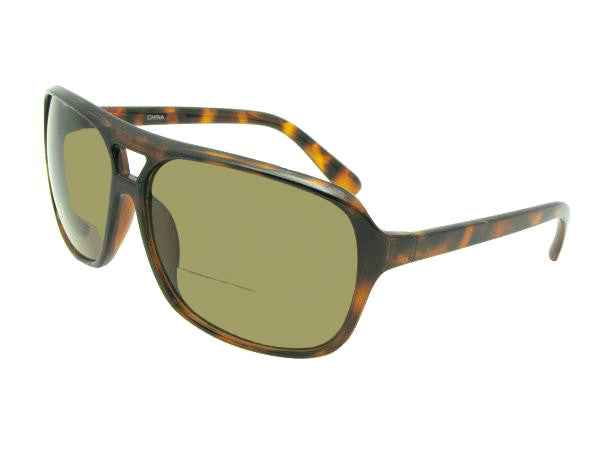 B13 Square Aviator Bifocal Sunglasses