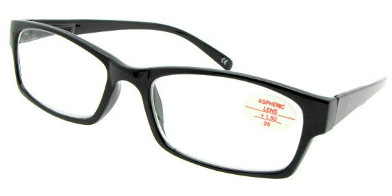 Style R20 Reading Glasses Black Frame
