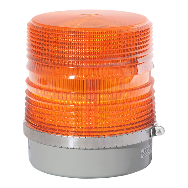 Medium Lens Amber Strobe Beacon | 200S-12V-A