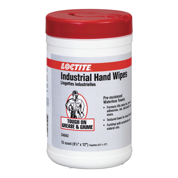 Loctite Industrial Hand Wipes | 75ct | 34943