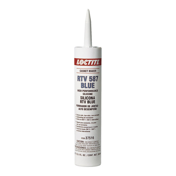 Loctite RTV 587 Blue Silicone Gasket Maker | 300ml Cartridge | 37516