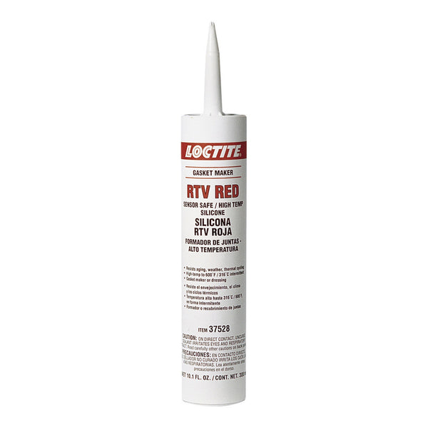 Loctite RTV Red Silicone Gasket Maker | 300ml Cartridge | 37528