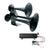 Train Horn Bundle Includes Tank and Compressor - Black - 46172