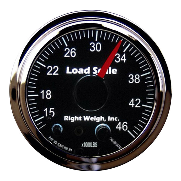 Right Weigh | In-Dash Analog Load Scale  | 510-46-C