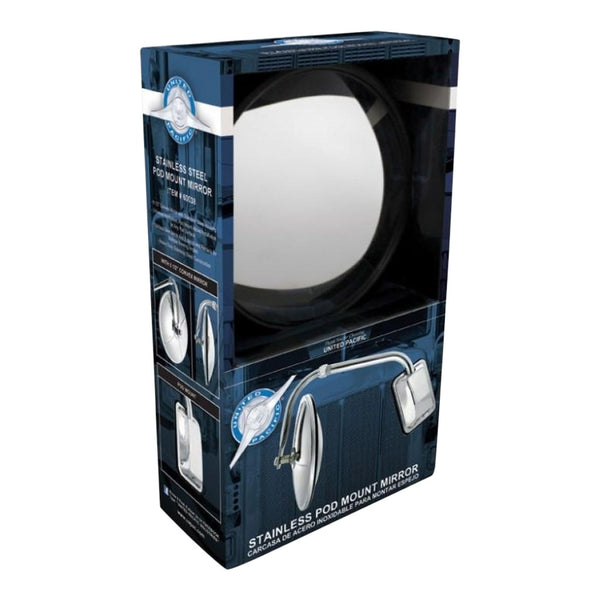 Pod Mount Mirror | Stainless Steel | 60038