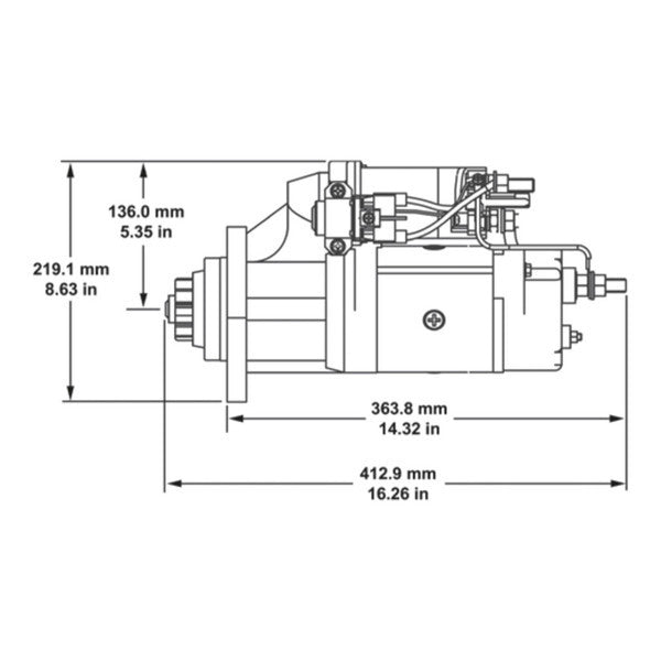 delco remy starter | various makes | 8200308