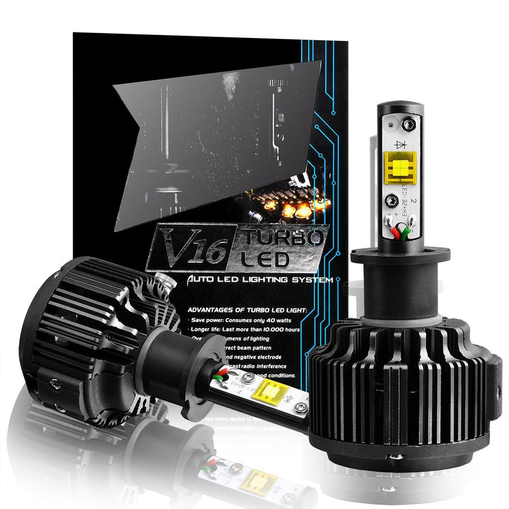LED Headlight Bulb H3 Conversion Kit