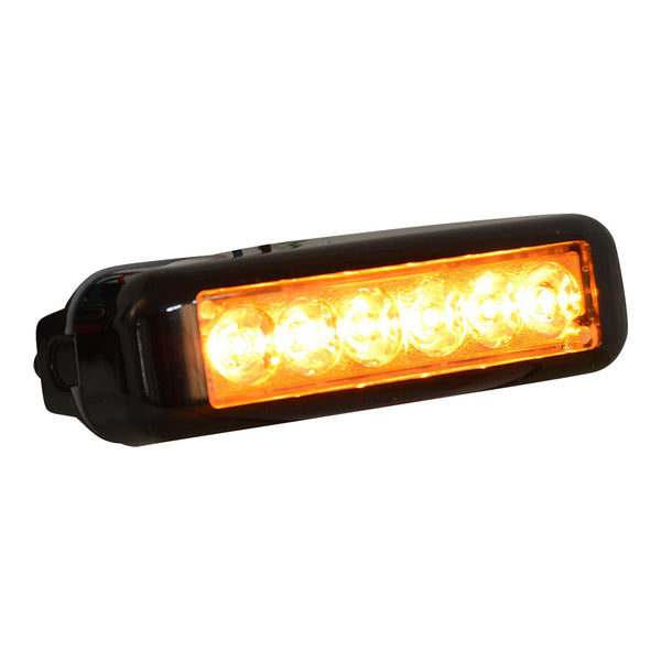 Versa Star 6 Amber LED Flush Mount  | DLX6-AA