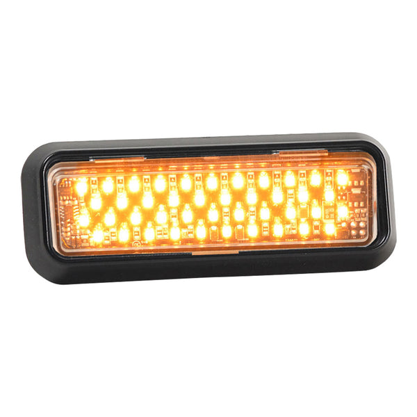 Thin Line LED Warning Light | Amber | DLXT-121-AA
