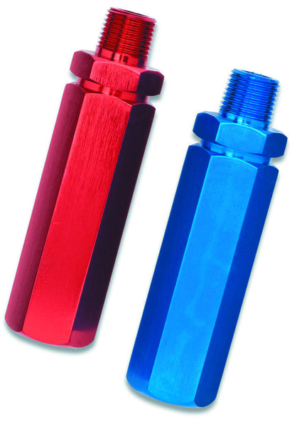 Aluminum Gladhand Handles | Red and Blue | GT-5341