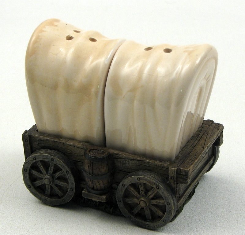 Conestoga Wagon Salt and Pepper Set