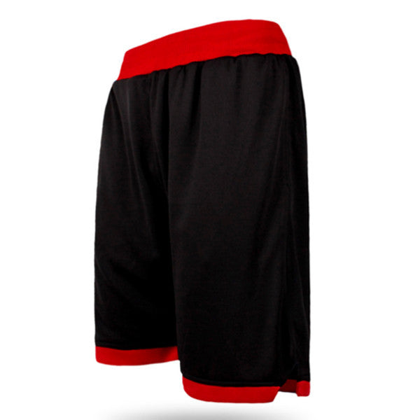 Personal Fitness Running Knee-length Shorts Mens Quick Dry Sweatpants Breathable Loose Gym Shorts