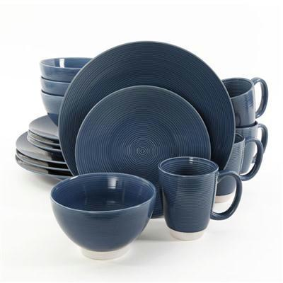 Ge Rowland Dw Set Blue 16pc