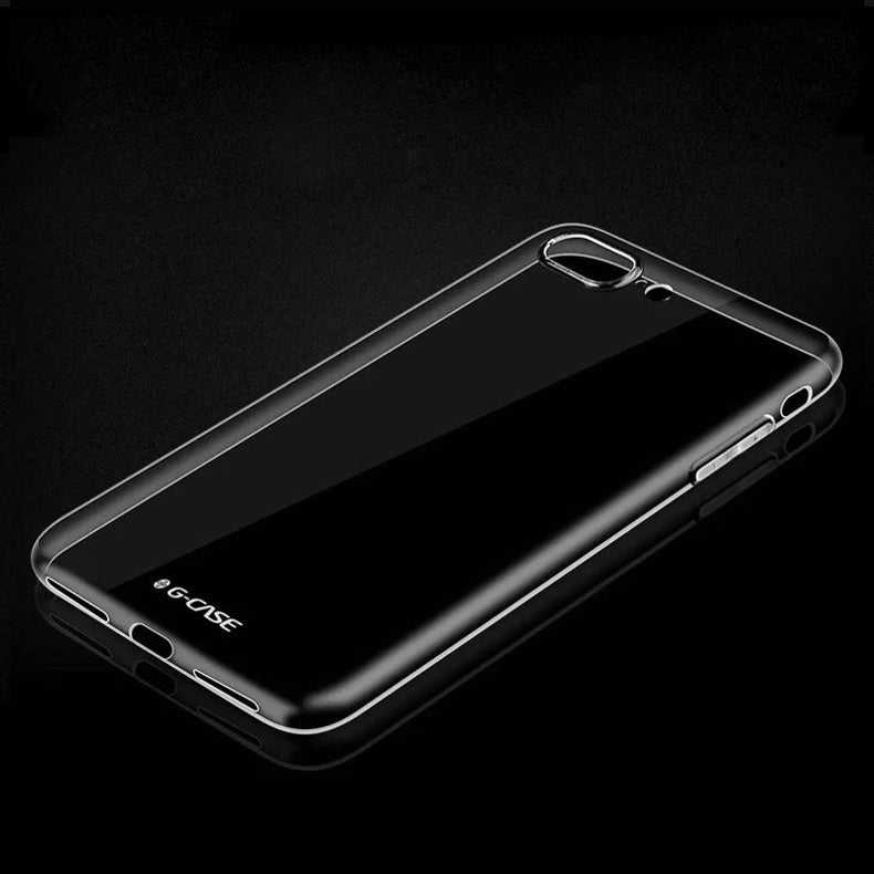 Glossy 0.5mm Ultra Thin TPU Case Protective Shell Back Case Cover For iPhone 7 Plus 5.5 Inch