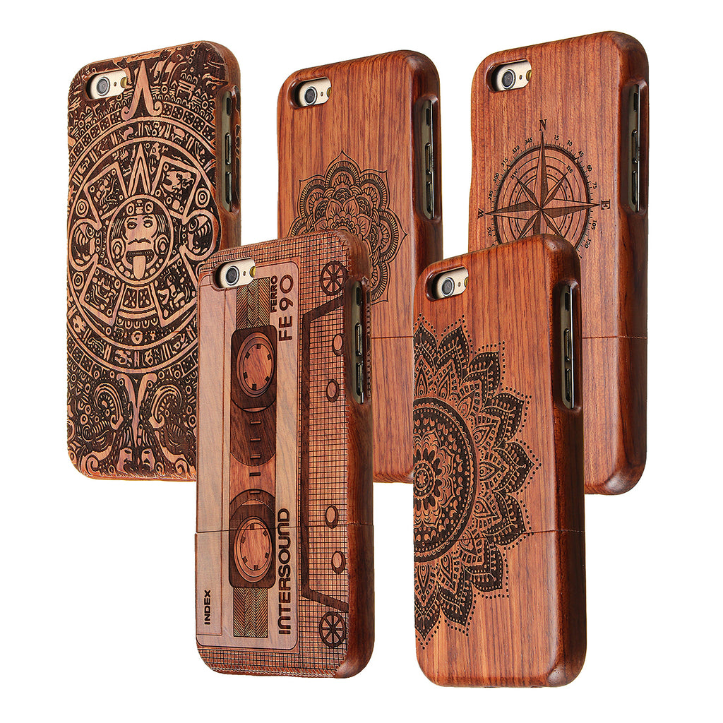 Natural Wooden Bamboo Case For iPhone 7 Plus/8 Plus