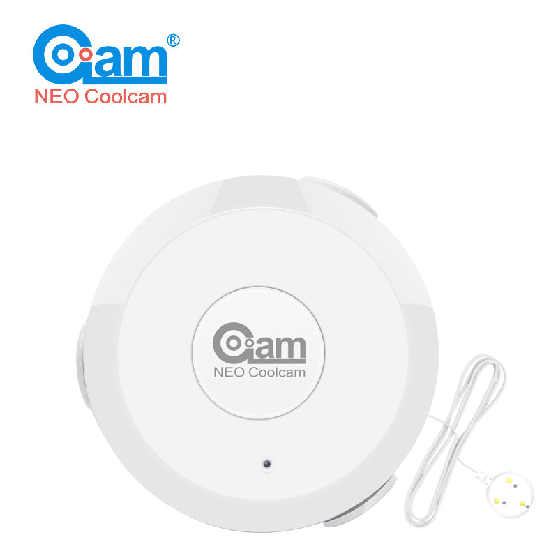 NEO COOLCAM Z Wave Flood NAS-WS01Z Water Leak Alarm Sensor Water Leakage Sensor Z-wave Sensor Alarm Home Automation System EU version