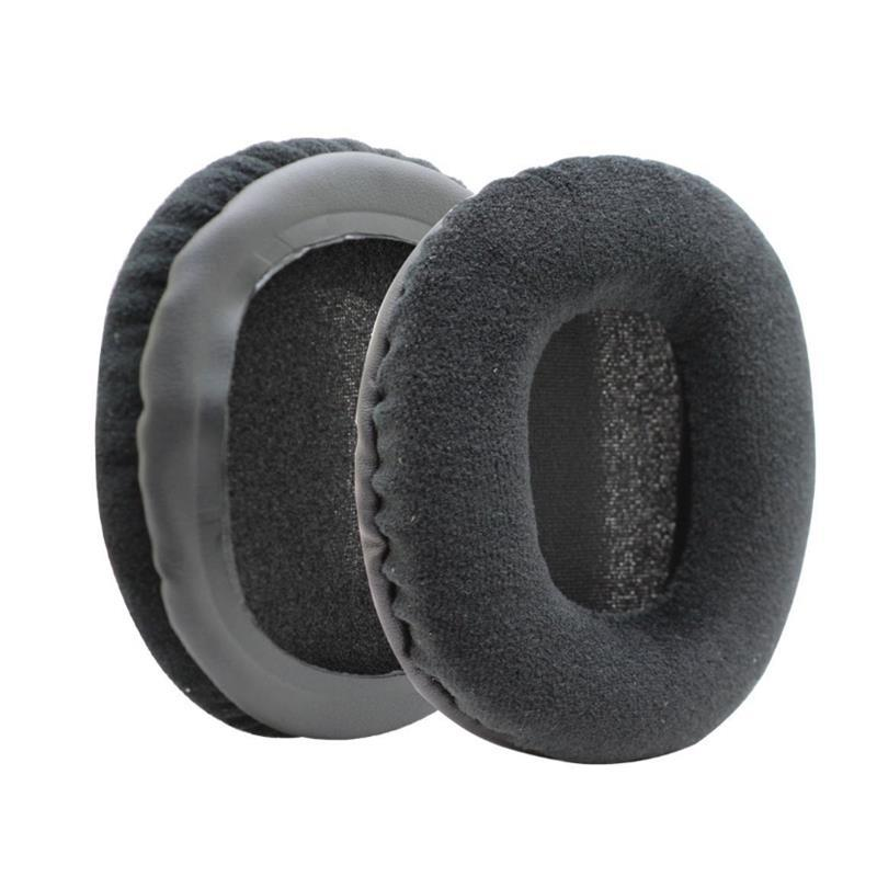 Replacement Soft Velour Ear Muff Ear-pads Cushion for Audio Technica ATH-M50 M50S M50X M40 M40S M40X Headphone