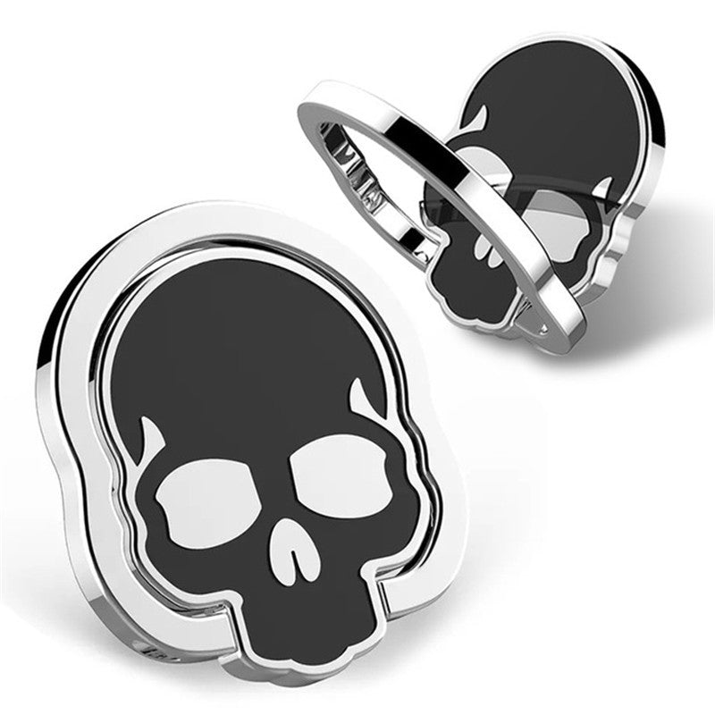 Universal Skull Ring Stand 360 Degree Rotation Desktop Phone Holder for Samsung S8 iPhone X Xiaomi