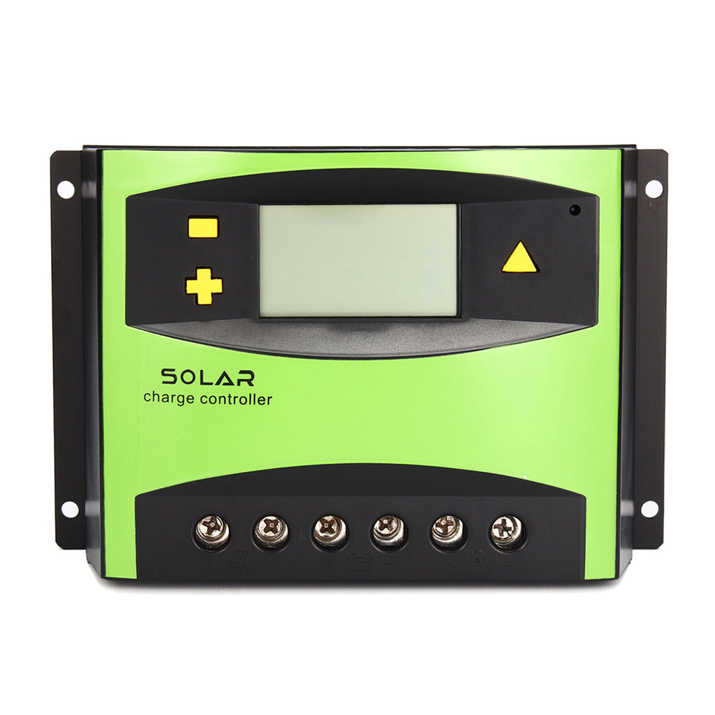 60A PWM Solar Charge Controller Battery Regulator with LCD Display