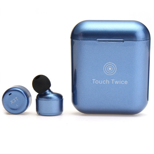 X3T Touch Control True Wireless Bluetooth Earbuds Stereo Earphone Headset For Tablet Cellphone