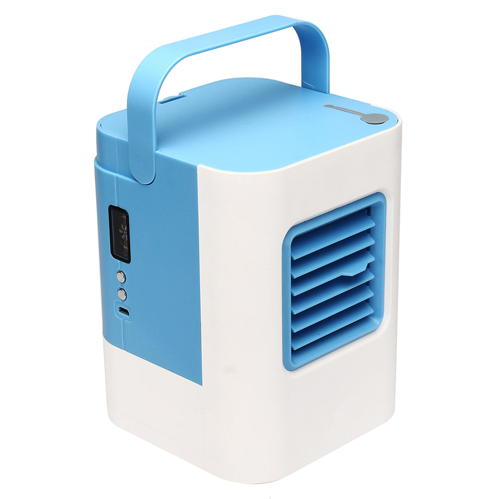 Handy Air Cooler The Quick & Easy Personal Space Cooler Fan Air Condictioner USB Charging