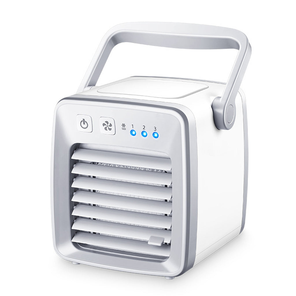 Personal Space Air Conditioner Cooling Fan with Humidifier Air Purifier Handy Cooler