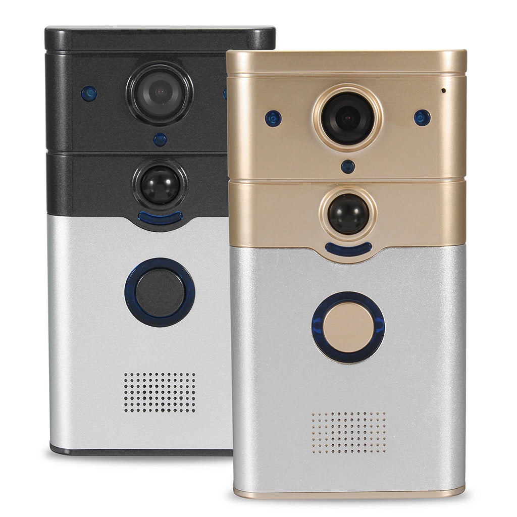 720P Wireless Doorbell WiFi Video Camera Phone Door Intercom IR Night Vision P2P