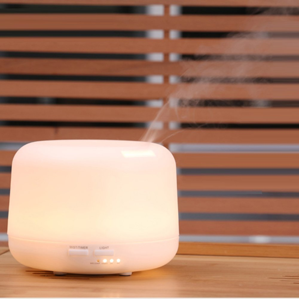300ml Nightlight Humidifer Essential Oil Diffuser