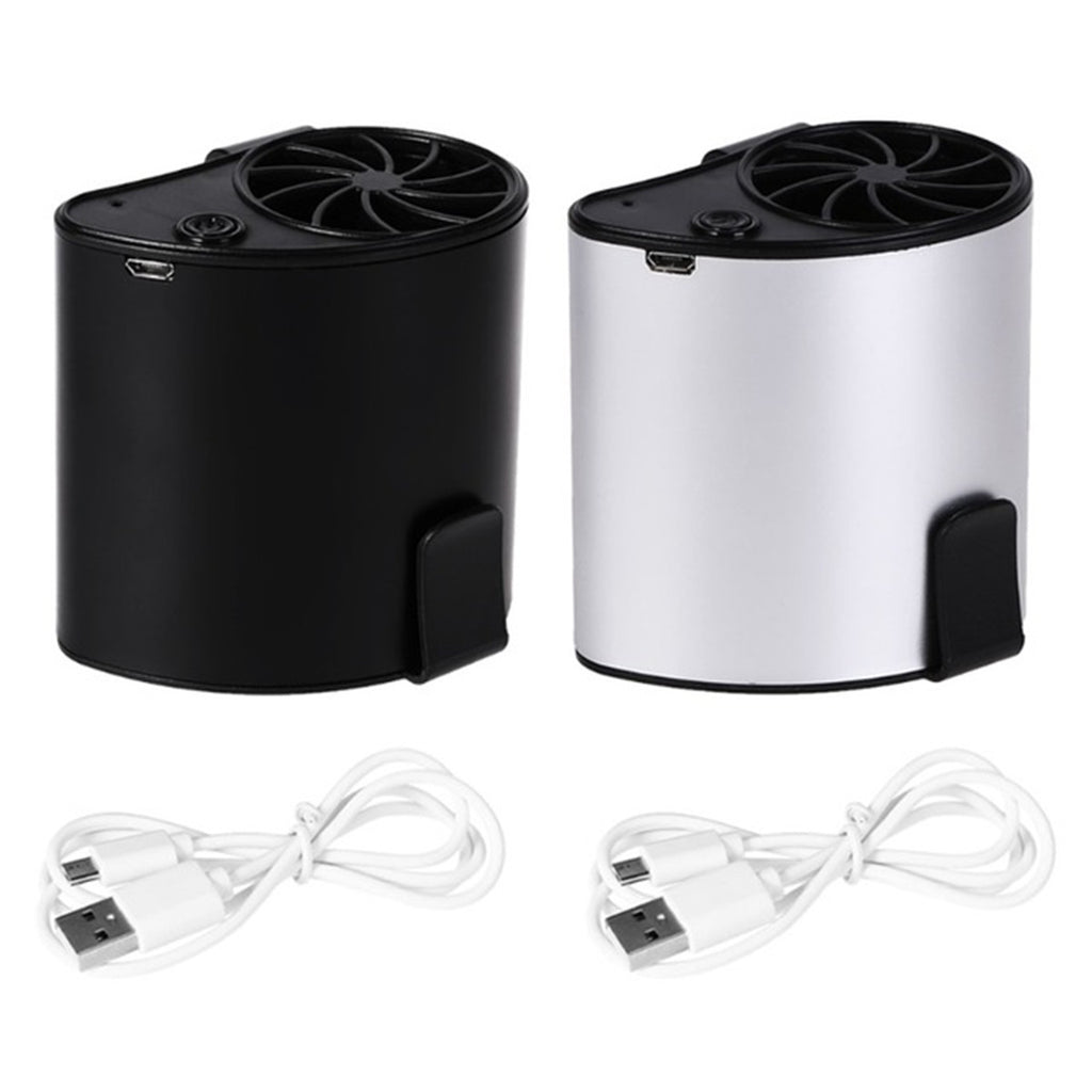 Mini Portable Waist Air Conditioner Cooling Fan On Belt Travel USB Rechargeable
