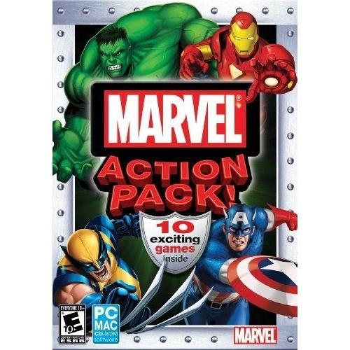 Marvel Action Pack Game Collection for Windows/Mac