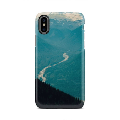 Wooded Forest Woods Trees Serene iPhone X Case