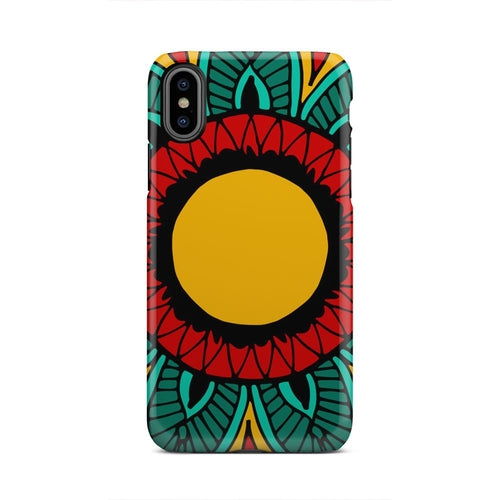 Yellow Green And Red Mandela Personal iPhone X