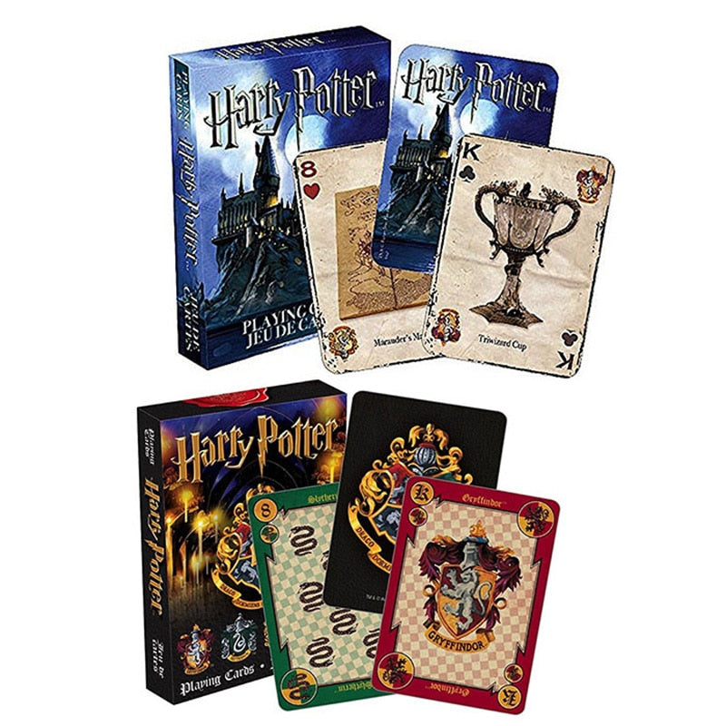 1pcs Harry Potter Playing Cards Funny Movie Cards for Board Game Beautiful Card Game Action Toy Figures Toys Hobbies