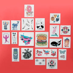 Artist Pack Two / Tattoonie Temporary Tattoos