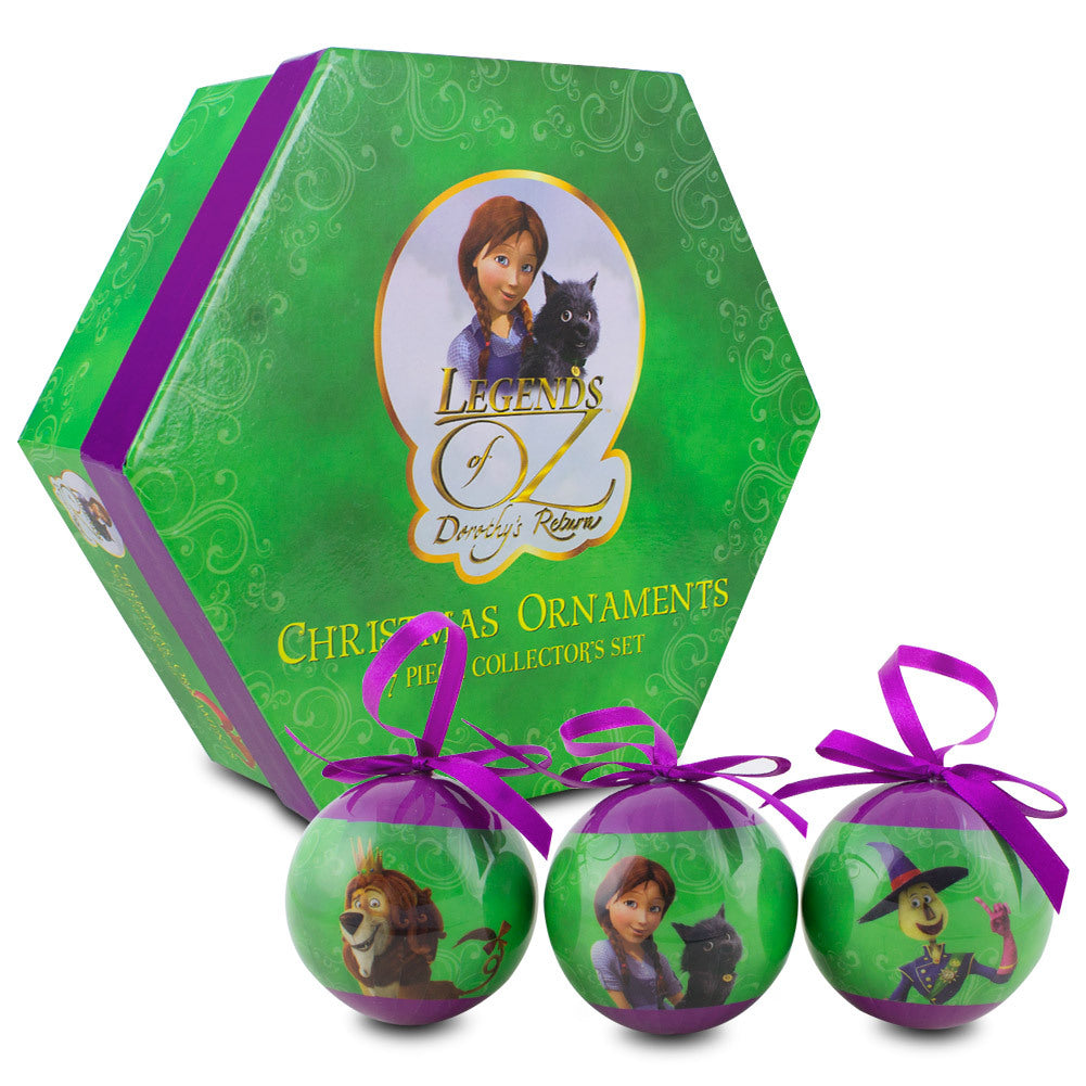 Legends of Oz Collectible Ornaments Gift Pack , 7 Ornaments