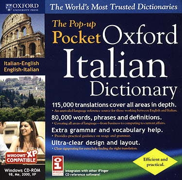The Pop-Up Pocket Oxford Italian Pocket Dictionary for Windows