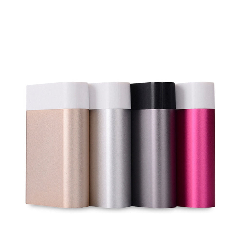 DIY 4*18650 Battery Power Bank Charger Box For iPhone 7 8 Smartphone portable charging for phone poverbank External Battery Bank
