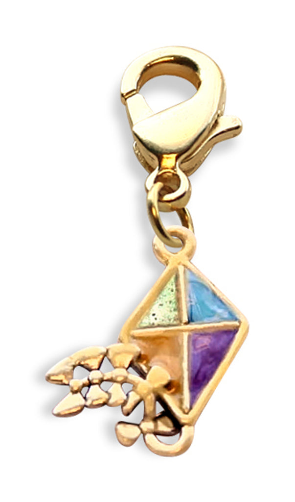 Kite Charm Dangle in Gold