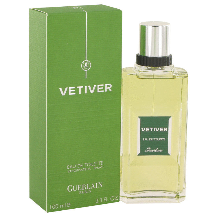 VETIVER GUERLAIN by Guerlain Eau De Toilette Spray 3.4 oz (Men)