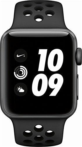 Apple Watch Series 3 Nike+ - GPS - Space Gray Aluminum Case with Anthracite/Black Nike Sport Band