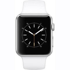 Apple Watch Series 1 42mm Smartwatch (Silver Aluminum Case, White Sport Band)
