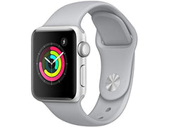 Apple Watch Series 3 - GPS - Space Gray Aluminum Case with Gray Sport Band - 42mm