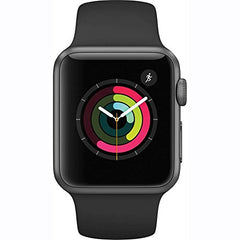 Apple Watch Series 1 42mm Smartwatch (Space Gray Aluminum Case/Black Sport Band)