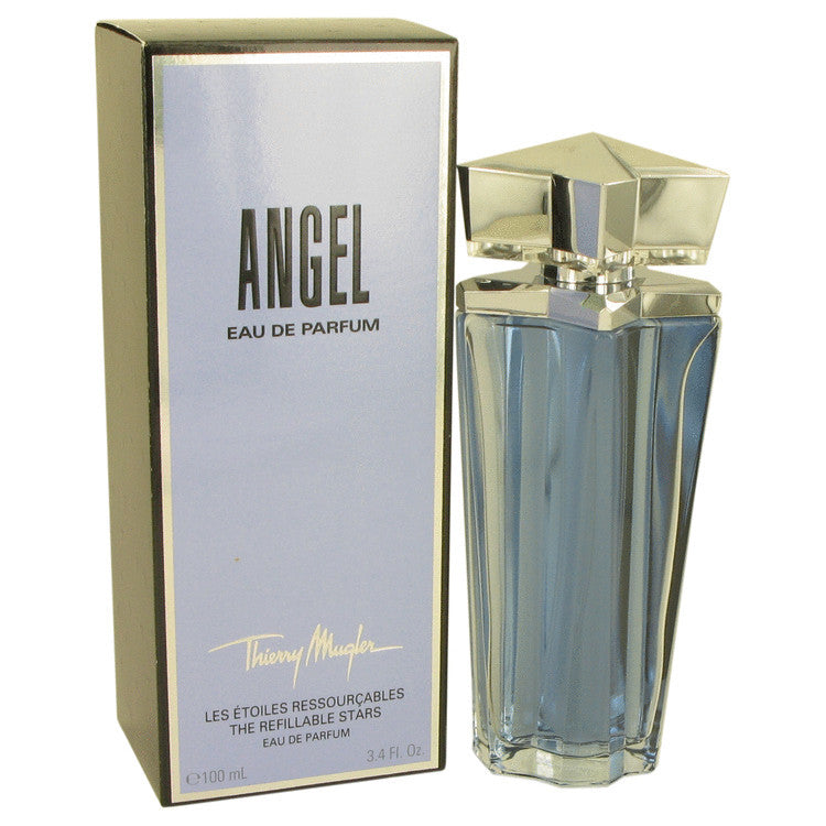 ANGEL by Thierry Mugler Eau De Parfum Spray Refillable 3.4 oz (Women)