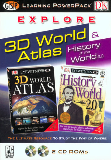 Explore 3D World Atlas Learning Power Pack