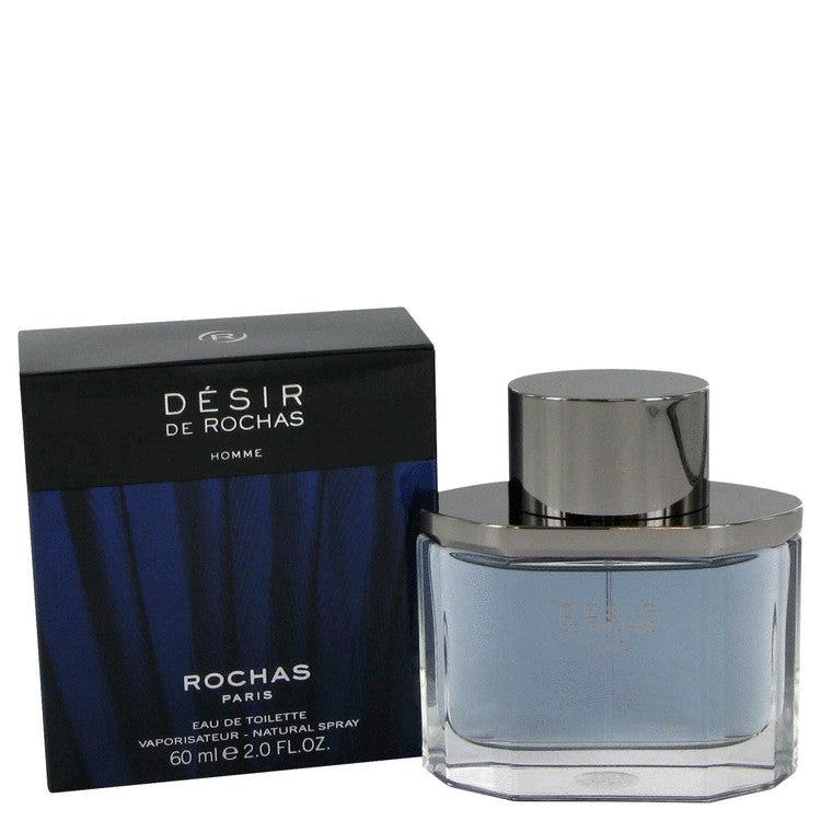 Desir De Rochas by Rochas Eau De Toilette Spray 2 oz (Men)