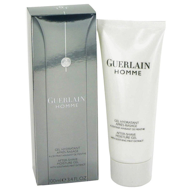 Guerlain Homme by Guerlain After Shave Gel 3.4 oz (Men)